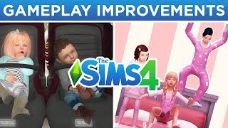 IMPROVED BABIES, RETAIL SYSTEM, SLEEP-OVERS, & MORE! 👶🏻🏠 // The Sims 4: Speculation/Wish List