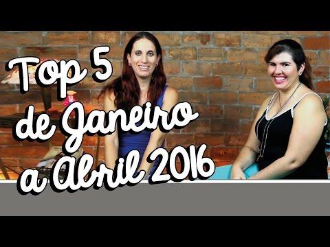 Top 5 Livros de Janeiro a Abril 2016