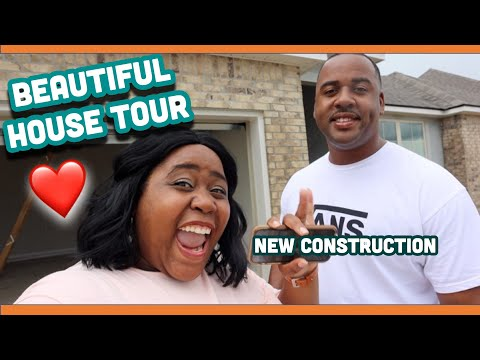 Beautiful New House Tour 2020 | Empty House Tour | New Construction House Update #3