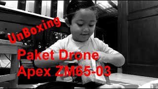 Unboxing Paket Mini Drone Racing Ghost Drone Apex GD65