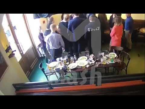 러시아 국대 코코린선수 한국계 러시아 공무원 폭행 영상