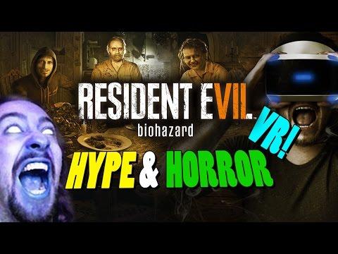 HYPE & HORROR: Meet The Bakers...Day 1 - Resident Evil 7 VR Compilation