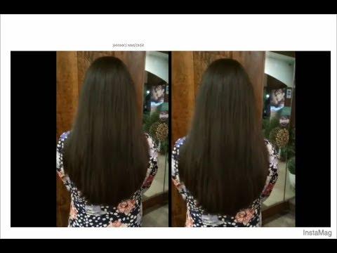 'U' shape Hair cut - easy method 'U' shaped Haircut tutorial in Hindi - Expert by Shyama's Makeover