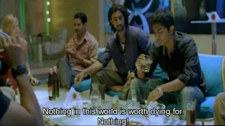 Rang De Basanti - Aamri Khan and Sharman Joshi drunk! HQ