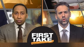 First Take reacts to Zaza Pachulia falling on Russell Westbrook   First Take   ESPN