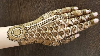 Video Hv Creations Of Henna Design For Backside 6 Official Heena