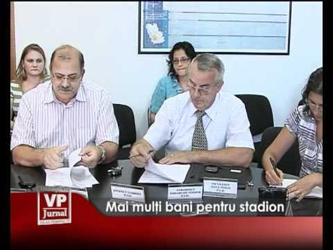 Mai mulţi bani pentru stadion
