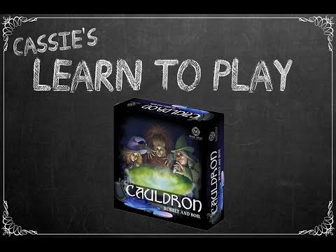Cassie's Learn to Play: Cauldron Bubble and Boil