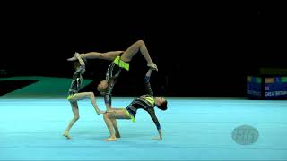 Russian Federation (RUS) - 2018 Acrobatic Worlds, Antwerpen (BEL) - Combined  Women's Group