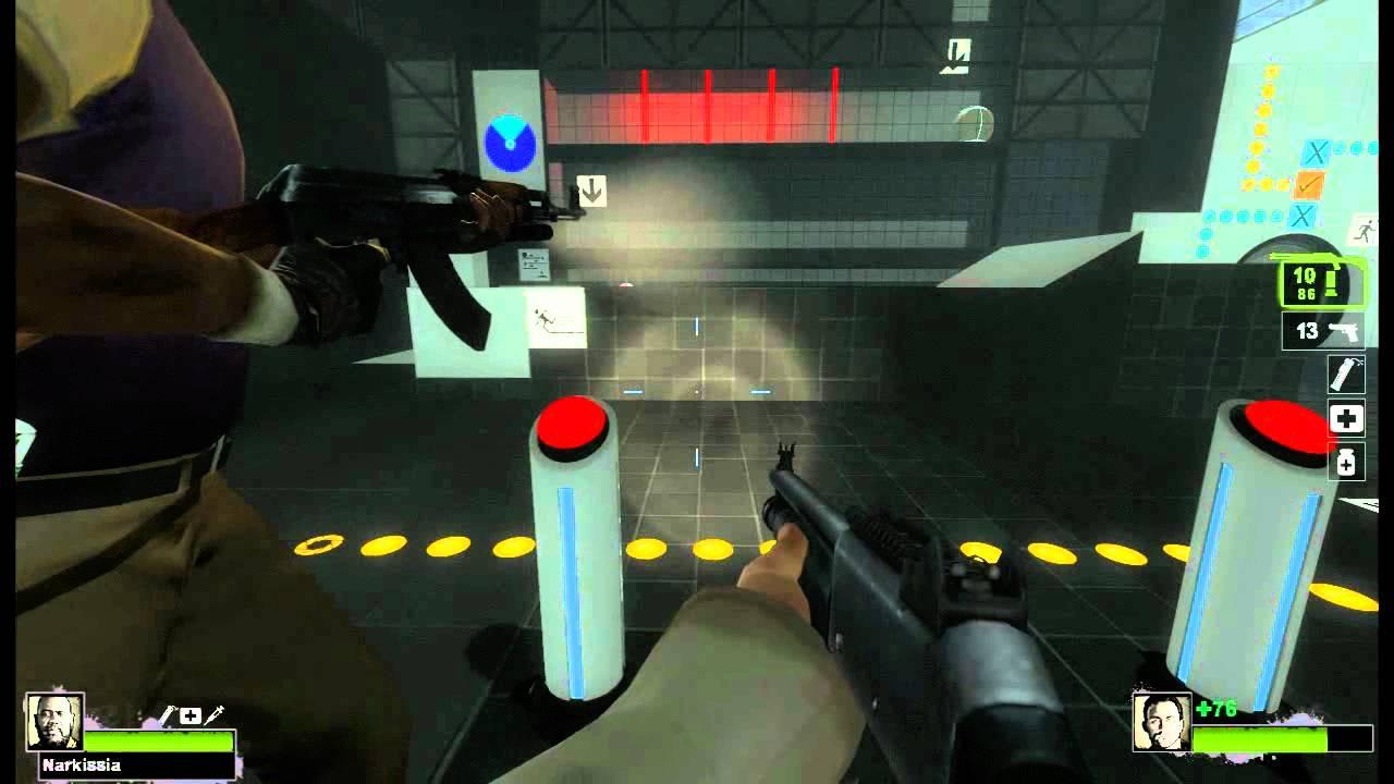 Left 4 Dead 2 Campaign Opens A Portal To Portal 2