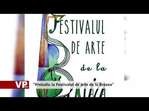 """Preludiu la Festivalul de arte de la Breaza"""