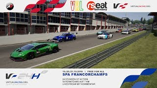 Assetto Corsa | Virtual Racing Lounge | 24h von Spa - virtualracing.org
