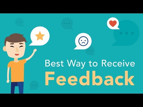Best Way to Receive Feedback