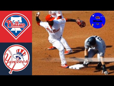 Yankees vs Phillies Highlights (Doubleheader Game 1) | (8/5/2020 Breakdown voiced by Wheels)
