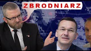 """Z. Kękuś (PPP 289) Jeszcze troszkę """"poćwiczę"""" M. Morawieckiego, według posła G. Brauna, ZB*ODNIARZA"""