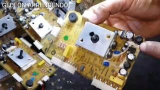 CONSERTANDO FÁCIL  A PLACA LAVADORA LTD13