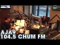 Aja on 104.5 CHUM FM with Roger, Darren & Marilyn