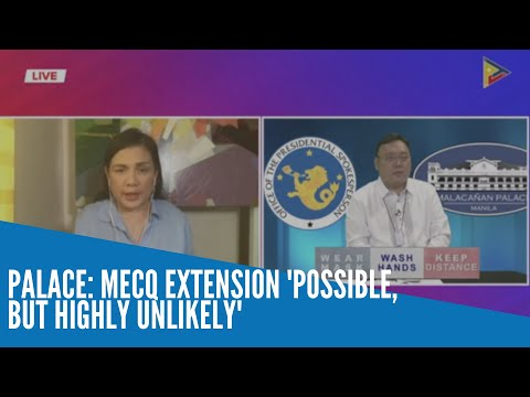 [Inquirer]  Palace: MECQ extension 'possible, but highly unlikely'