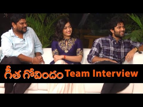 Geetha Govindham Movie Team Interview