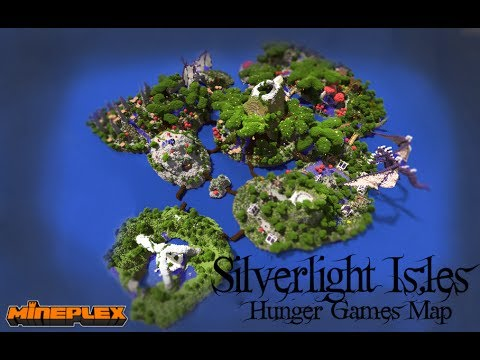 Silverlight Isles - The Cave Survival Games Map Minecraft Project