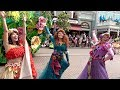 Disneyland Paris Festival of Pirates and Princesses - Team Princess w/Moana, Belle, Rapunzel +