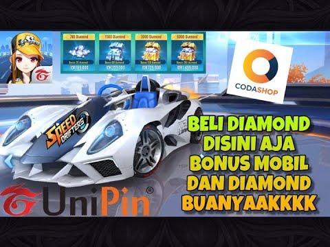 TOP UP BELI DIAMOND TERMURAH GARENA SPEED DRIFTERS DI UNIPIN, CODASHOP DAPAT BONUS MOBIL PERMANEN !