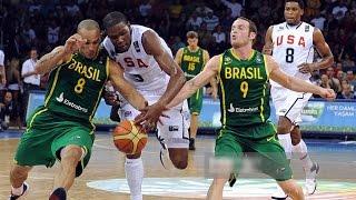 USA vs Brazil 2010 FIBA World Basketball Championship Group Game HD 720p FULL GAME English