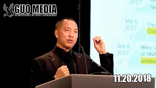 郭文贵2018年11月20日信息发布会 :  Miles Guo Press Briefing on 11/20/2018