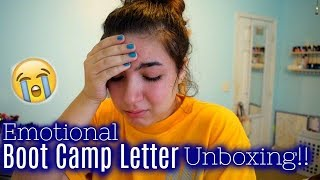 Vlog / Emotional Reading Of BF's Bootcamp Letters & Productive Day!