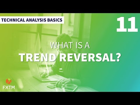What Is a Trend Reversal? — Technical Analysis Basics