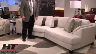 Palliser Cato Leather Sofa And Loveseats At HTmarket.com
