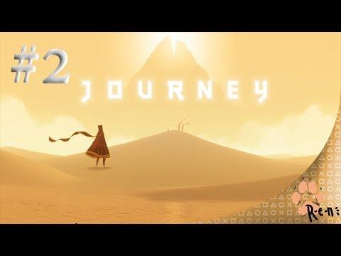 Journey (PS4) CZ ASMR Let's Play #2 /R-e-n/ (zlatavé písky)