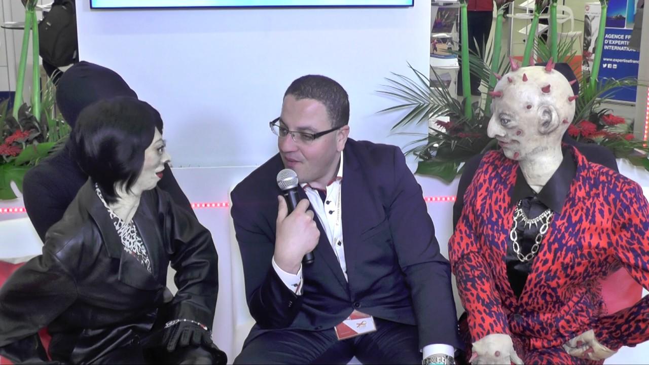 Akli BOUAZIZ - Nephrotek - AAZ - Congrès AfraVIH - Bruxelles 2016
