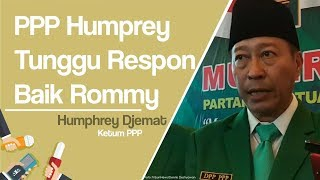 PPP Kubu Humphrey Tunggu Respon Positif Romahurmuziy untuk Islah