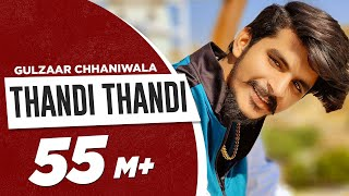 GULZAAR CHHANIWALA | THANDI THANDI (Official Video) | Latest Haryanvi Song 2020 | Speed Records