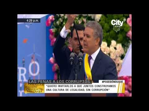 'El narcotráfico y el secuestro no son delitos conexos al delito político' Duque | City Tv