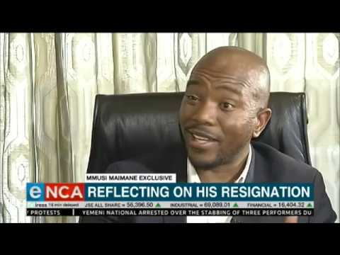 Exclusive | Maimane reflects on resignation
