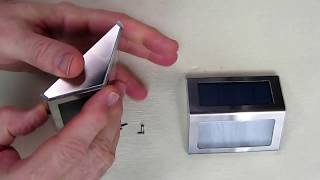 REVIEW of JACKYLED 2-Pack Solar Step Lights with Larger-Storage Batteries