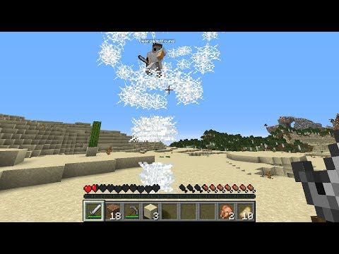 Minecraft, But A Tornado Chases Us...