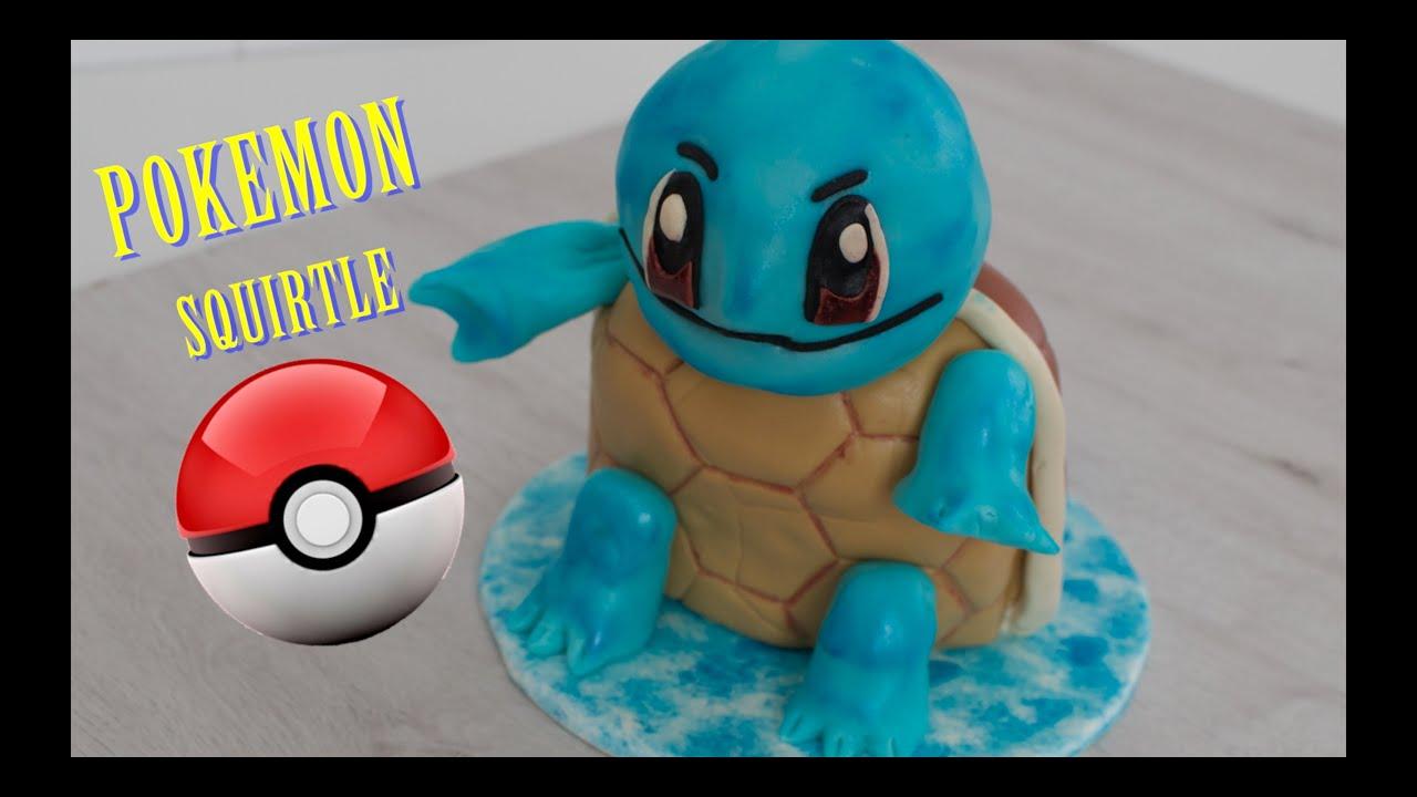 Como hacer Tarta Pokemon Go (Squirtle) | Torta de Pokemon | Pastel de Pokemon | Tortas de Pokemon