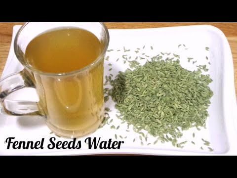 Video Fennel Seeds Water for Weight loss Fast/ Saunf Water
