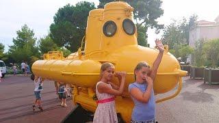 ✿ВЛОГ Идем в Музей Океанографии в Монакко. VLOG: Акула чуть не съела другую акулу Катя испугалась