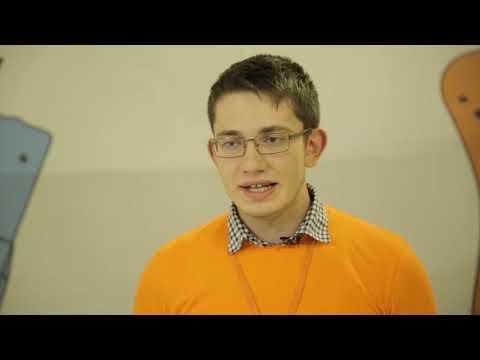 Тимур из Белгорода представил свой прототип прибора для обучения слепых людей азбуке Брайля