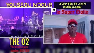 Youssou Ndour Live at London O2 Indigo