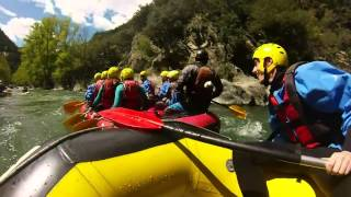 preview picture of video 'Rafting Sort GoPro Hero 3'
