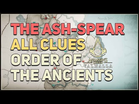Assassin's Creed Valhalla: The Ash-Spear Order Member and Clue Locations
