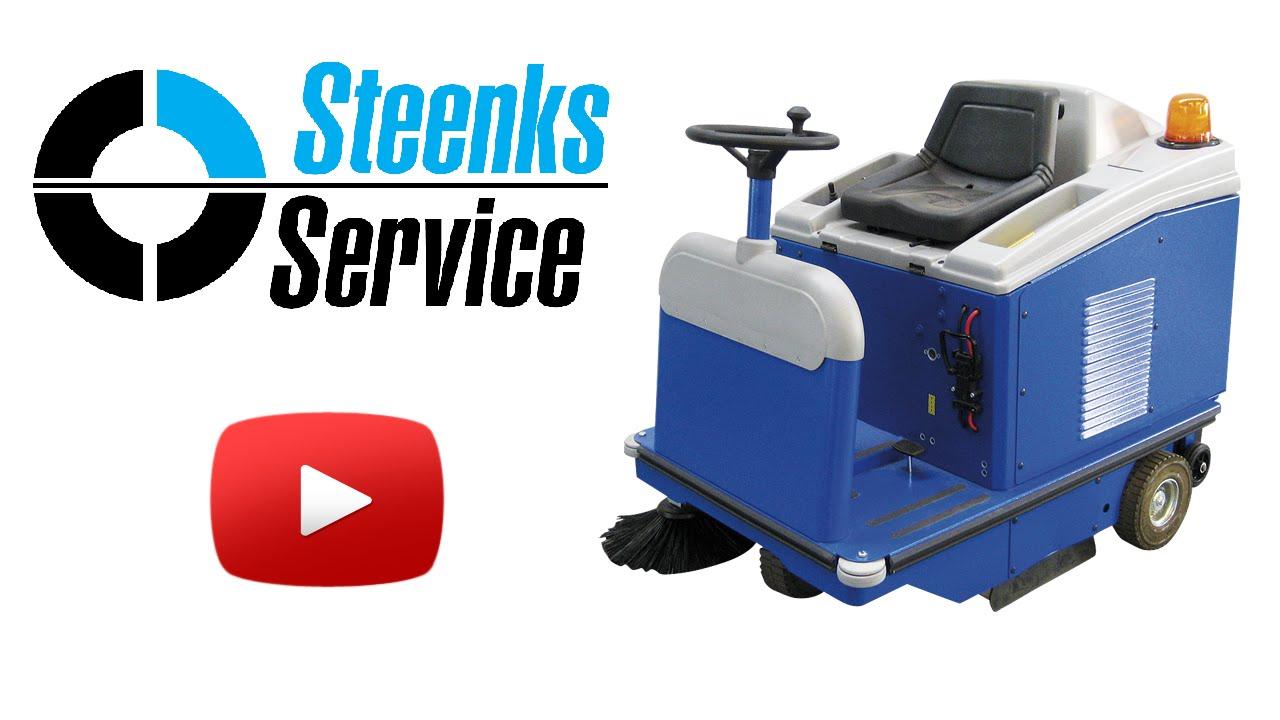 YouTube video | Floor sweeper Stefix 95