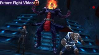 Marvel Future Fight - 7 second Thanos Infinity Clear! [Dormammu]