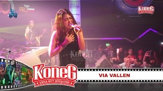 KONEG LIQUID Feat VIA VALLEN - KELANGAN [3rd LIVE CONCERT - Liquid Cafe] [Dangdut Koplo]