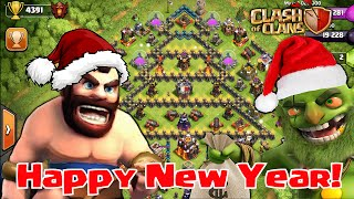 Happy New Year E-Cards, Clash Of Clans Movie  Movie Happy New Year Full Animation